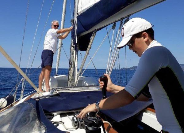 White Wake Sailing - Segeltärns in Kroatien