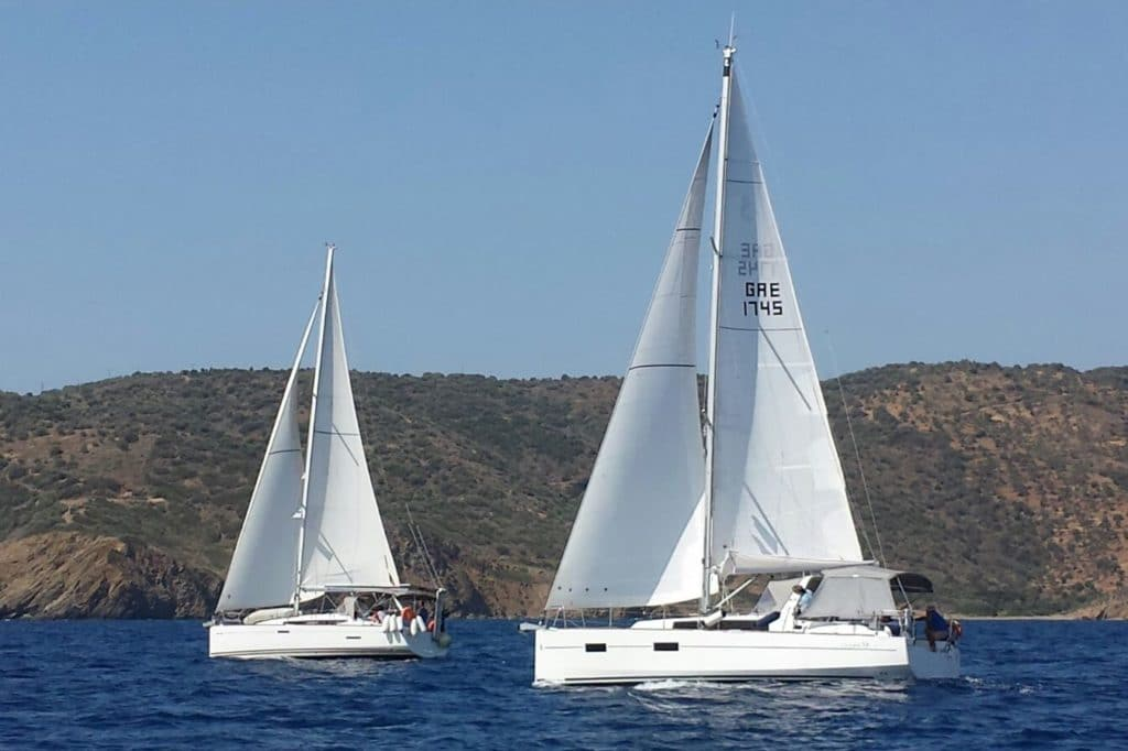 offshore cruises - White Wake Sailing