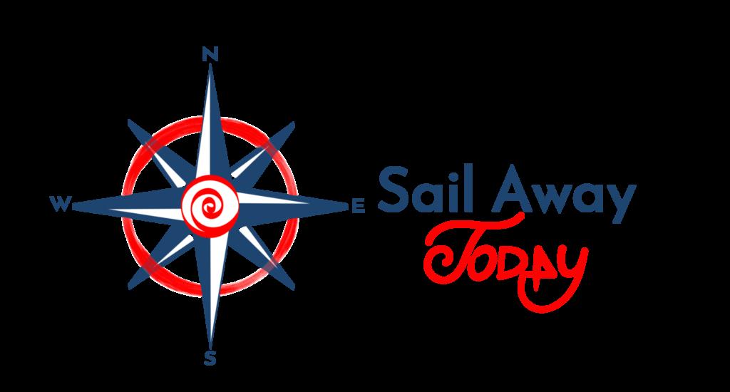 Sail away today - logo